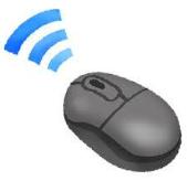 ワイヤレスマウスは授業や懇談会で大活躍