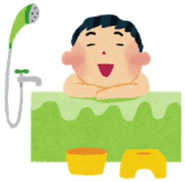 入浴後1~2時間後の就寝が理想