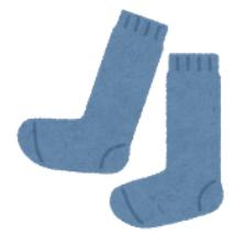 教育実習では靴下もシンプルに!