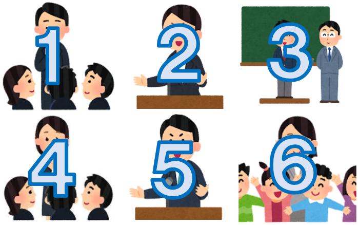 教育実習で実習生に求められる挨拶はなんと6回!
